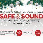 Chương trình khuyến mãi SAFE & SOUND