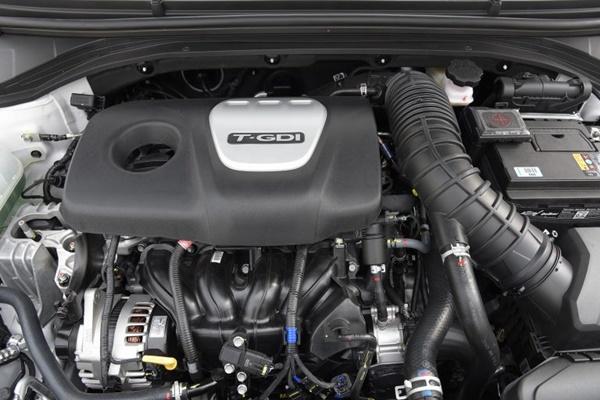 Động cơ Hyundai Elantra Sport 2018