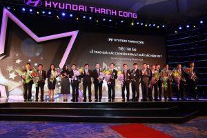 Hyundai Thành Công vinh danh những đại lý xuất sắc nhất